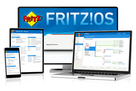 FRITZ!OS - software complet