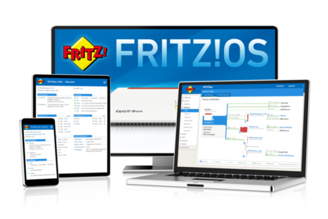 FRITZ!OS – software complet incarcat